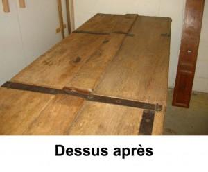 Dessus-restaure