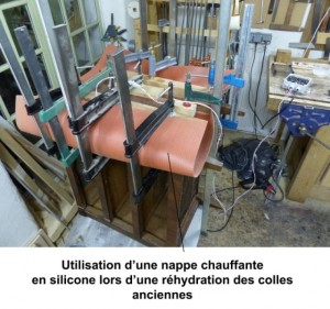 rehydration-colle-ancienne-nappe-chauffante