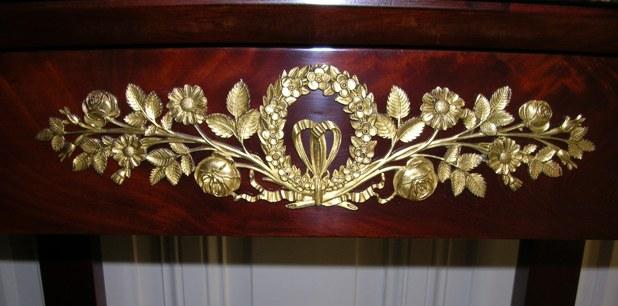 bronze empire finerment ciselé