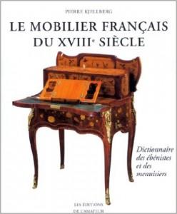 livre le mobilier du XVIIIe siècle