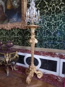 Torchère Louis XIV à Versaille